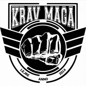 Krav Maga Lejre - black on white logo